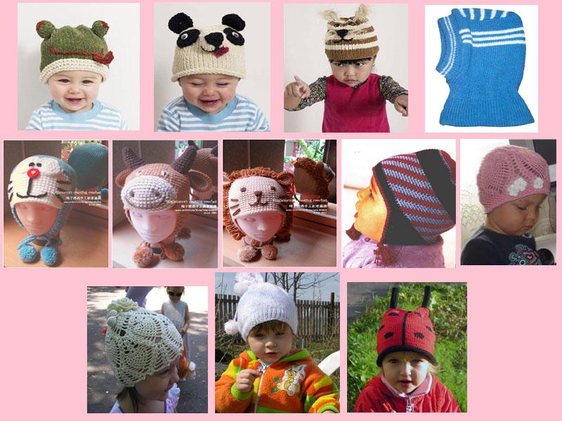 Вязание детских шапочек спицами шапочки шлема